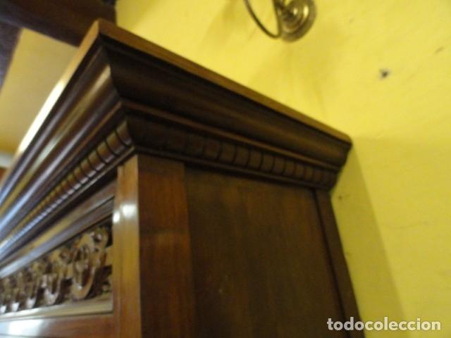 Antigüedades: MUEBLE MODERNISTA ESCRITORIO NOGAL - Foto 34 - 140986322