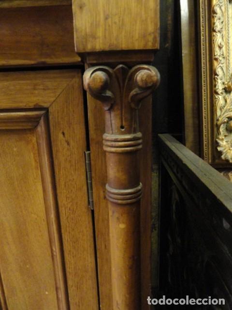 Antigüedades: MUEBLE MODERNISTA ESCRITORIO NOGAL - Foto 37 - 140986322