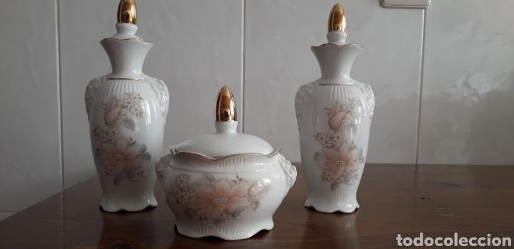 PIEZAS DE TOCADOR (Antigüedades - Porcelanas y Cerámicas - Otras)