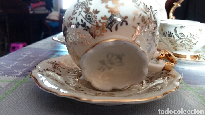 Antigüedades: Juego café Bavaria - Foto 3 - 141219214