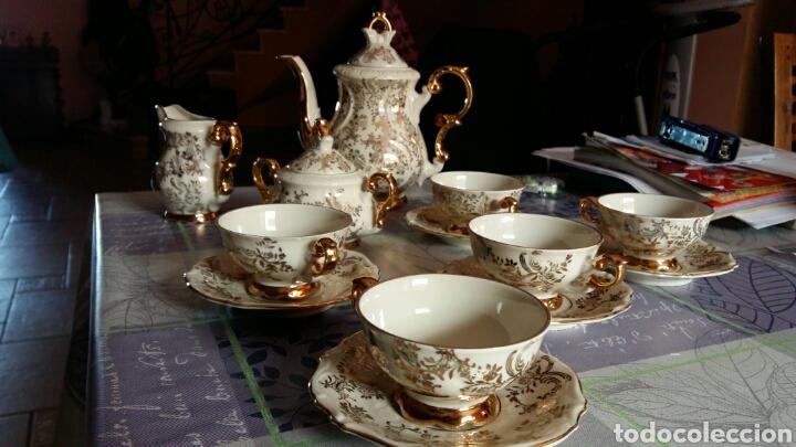 Antigüedades: Juego café Bavaria - Foto 4 - 141219214