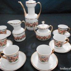 Antigüedades: BONITO JUEGO DE CAFE CIFPLA - GIJON. Lote 141231066