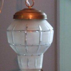 Antigüedades: LAMPARA , UNA LUZ. Lote 141292894