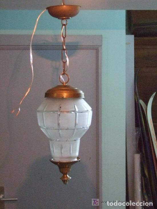 Antigüedades: LAMPARA , UNA LUZ - Foto 2 - 141292894