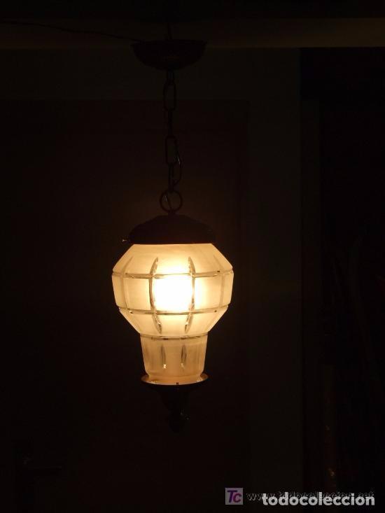 Antigüedades: LAMPARA , UNA LUZ - Foto 7 - 141292894