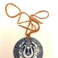 Antigüedades: MEDALLA DE SARGADELOS ## CORPUS LUCENSE ## 1987. Lote 141295766