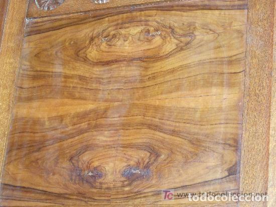 Antigüedades: SOFA-VITRINA MODERNISTA CON MARQUETERIA Y TALLA EN ROBLE-GASPAR HOMAR ? - Foto 12 - 141309978