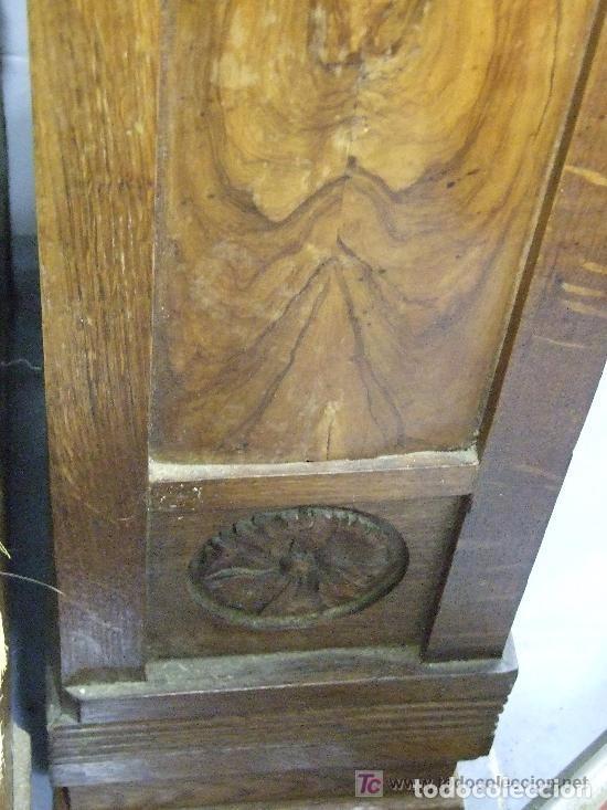 Antigüedades: SOFA-VITRINA MODERNISTA CON MARQUETERIA Y TALLA EN ROBLE-GASPAR HOMAR ? - Foto 16 - 141309978