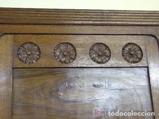 Antigüedades: SOFA-VITRINA MODERNISTA CON MARQUETERIA Y TALLA EN ROBLE-GASPAR HOMAR ? - Foto 17 - 141309978