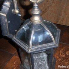 Antigüedades: FAROL DE BRONCE. Lote 141310762