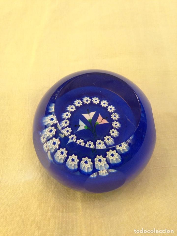 Antigüedades: Pisapapeles de cristal Scotland 5 cm diámetro - Foto 4 - 141311188