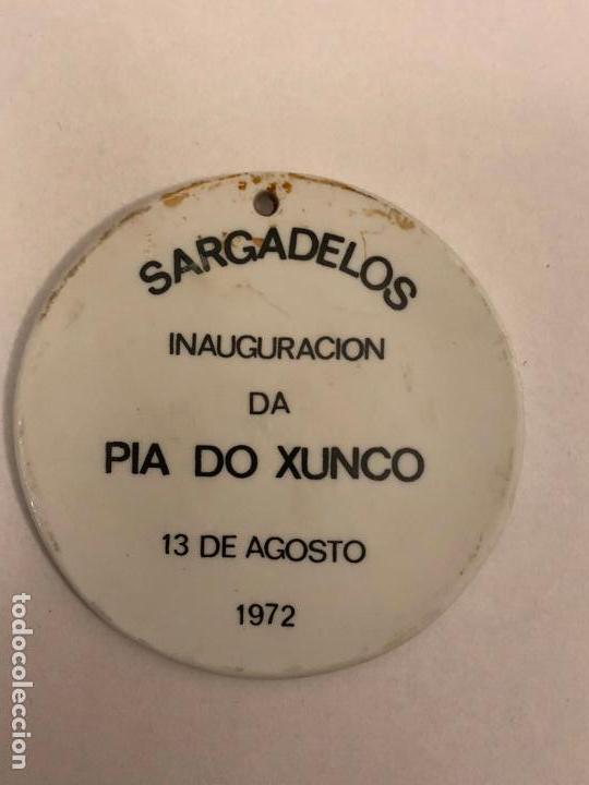 Antigüedades: MEDALLA DE O CASTRO ## PIA DO XUNCO ## SARGADELOS - Foto 2 - 141321846