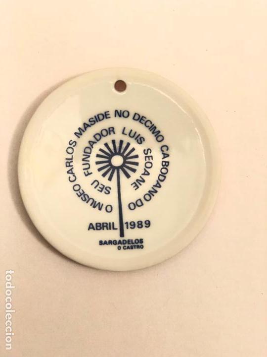 Antigüedades: MEDALLA DE SARGADELOS HOMENAJE A LUIS SEOANE ## MUSEO CARLOS MASIDE 1989 ## SARGADELOS - Foto 2 - 141328054