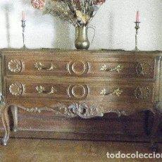 Antigüedades: APARADOR EN MADERA DE EMBERO. Lote 141329538