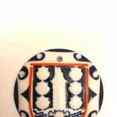 Antigüedades: MEDALL DE SARGADELOS ## ESCUDO HERALDICO LA CORUÑA - COLOR ## SARGADELOS . Lote 141331246