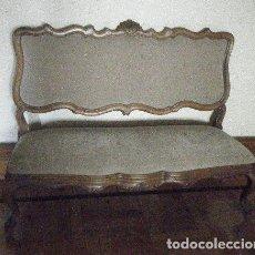 Antigüedades: CANAPÉ-SOFÁ ESTILO ROCOCÓ LUIS XV. Lote 141331790
