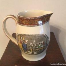 Antigüedades: JARRA DE PORCELANA INGLESA ADAMS OLIVER ASKING. Lote 141334312