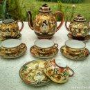 Antigüedades: JUEGO DE TE. Lote 141483866