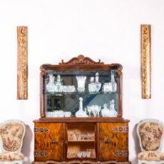 Antigüedades: VITRINA ANTIGUA ART DECÓ. Lote 141487490