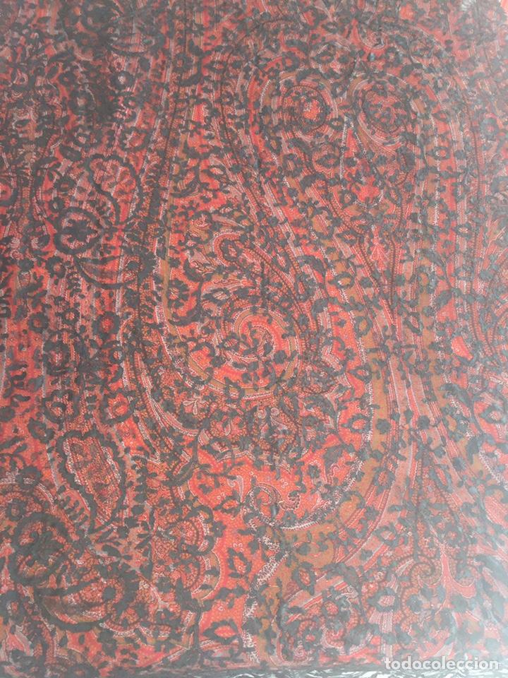 Antigüedades: Mantilla 240x82cm - Foto 2 - 141567518