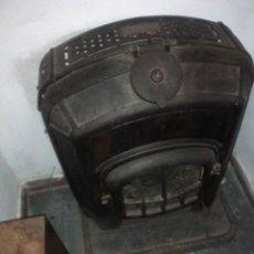 Antigüedades: SALAMANDRA SIGLO XIX HIERROFUNDIDO. Lote 141568518