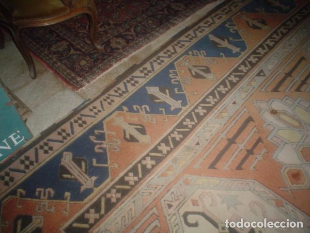 Antigüedades: preciosa alfombra lana hecha a mano - Foto 3 - 141569630