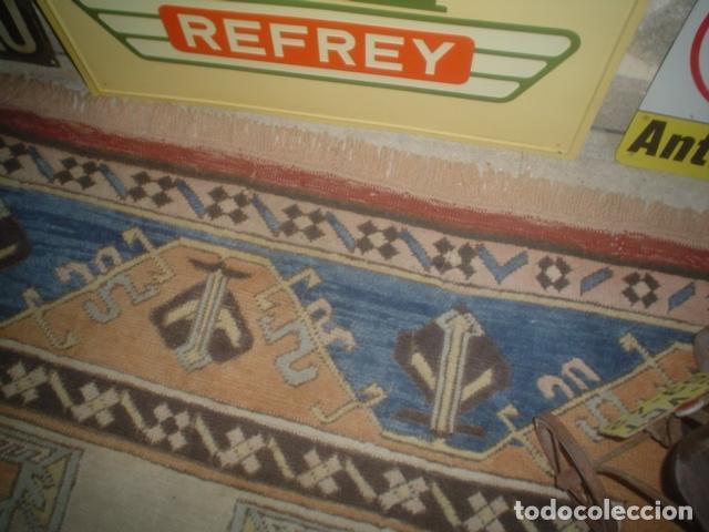 Antigüedades: preciosa alfombra lana hecha a mano - Foto 5 - 141569630