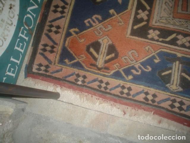 Antigüedades: preciosa alfombra lana hecha a mano - Foto 6 - 141569630