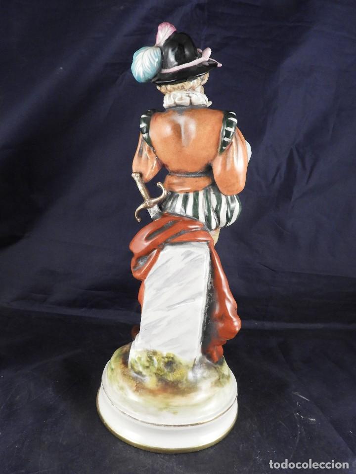 Antigüedades: FIGURA DE PORCELANA S MALLOL FLAUTISTA - Foto 6 - 141571602