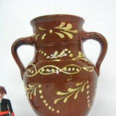 Antigüedades: ANTIGUA JARRA CANTARO DOS ASAS CERAMICA ALBA DE TORMES SALAMANCA. Lote 141600770