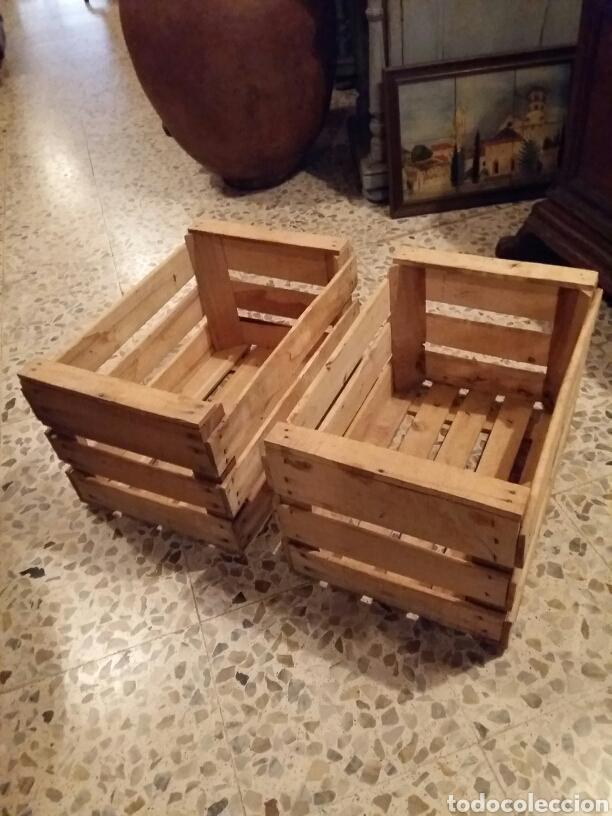 Antigüedades: Lote 2 cajas antiguas de madera - Foto 2 - 141686376
