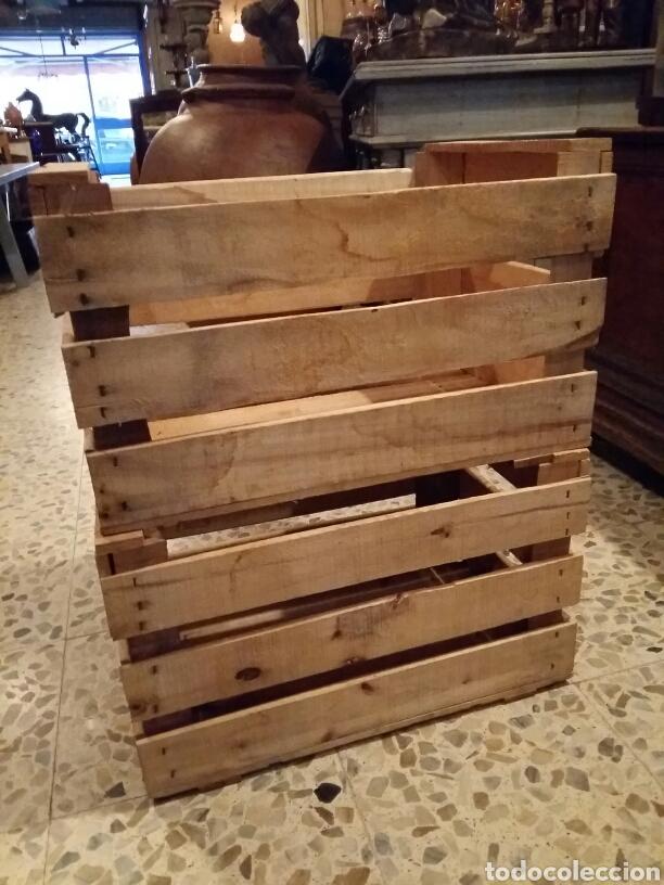 Antigüedades: Lote 2 cajas antiguas de madera - Foto 4 - 141686376