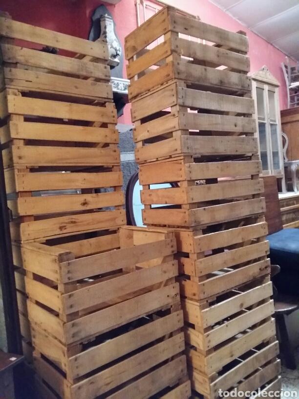 Antigüedades: Lote 2 cajas antiguas de madera - Foto 5 - 141686376