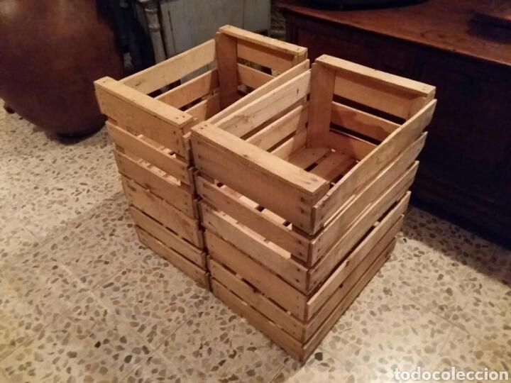 Antigüedades: Lote 4 cajas antiguas de madera - Foto 2 - 141686580