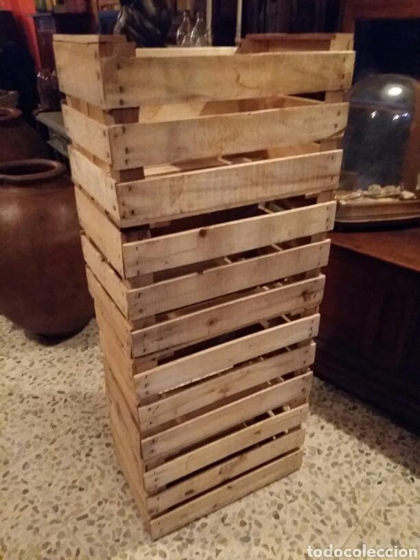 Antigüedades: Lote 4 cajas antiguas de madera - Foto 4 - 141686580