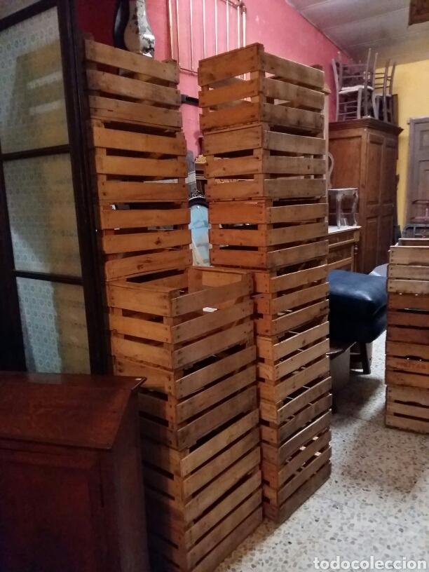 Antigüedades: Lote 4 cajas antiguas de madera - Foto 5 - 141686580