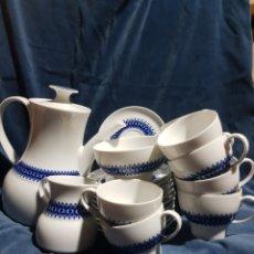 Antigüedades: JUEGO DE CAFÉ EN PORCELANA ALEMANA THOMAS. Lote 141707700
