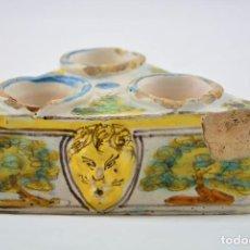 Antigüedades: ESPECIERO TRIANGULAR SIGLO XVII TALAVERA. Lote 141732406