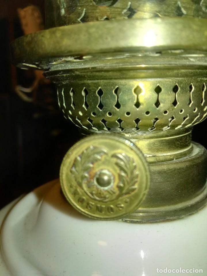 Antigüedades: lampara antigua y original kosmos electrificada - Foto 4 - 141769038