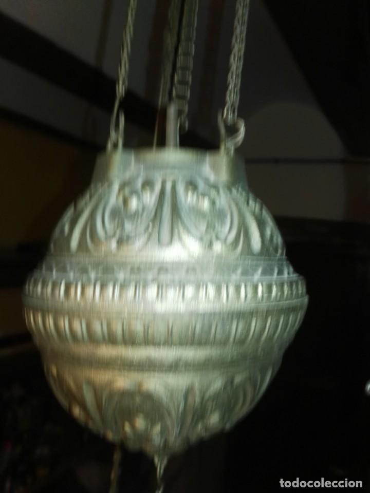 Antigüedades: lampara antigua y original kosmos electrificada - Foto 7 - 141769038
