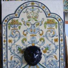 Antigüedades: FUENTE AZUL. Lote 141781626