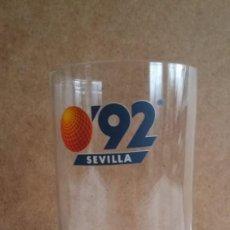 Antigüedades: ANTIGUO VASO DE LA EXPO SEVILLA 1992. Lote 141781686