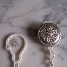 Antigüedades: PINZA PARA CHUPETE DE PLATA DE LEY. CONTRASTE 925.. Lote 141782018