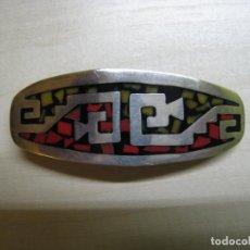 Antigüedades: PRECIOSO COLETERO EN PLATA DE LEY 925 CONTRASTADO. Lote 141785838