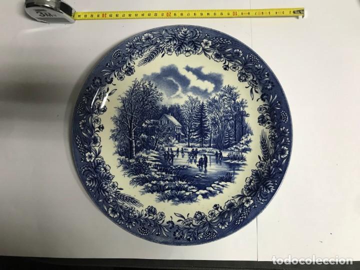 Antigüedades: Vajilla de porcelana inglesa Churchill para 8 personas ( 43 piezas ) - Foto 3 - 141814662