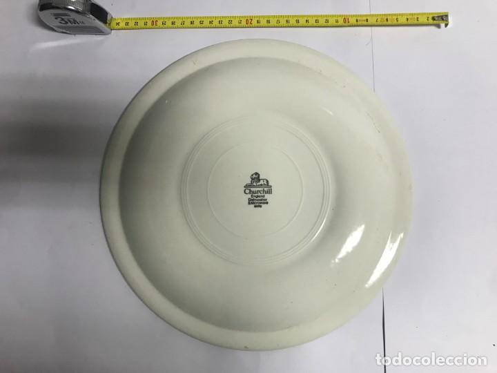 Antigüedades: Vajilla de porcelana inglesa Churchill para 8 personas ( 43 piezas ) - Foto 4 - 141814662