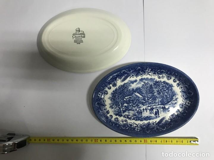Antigüedades: Vajilla de porcelana inglesa Churchill para 8 personas ( 43 piezas ) - Foto 12 - 141814662