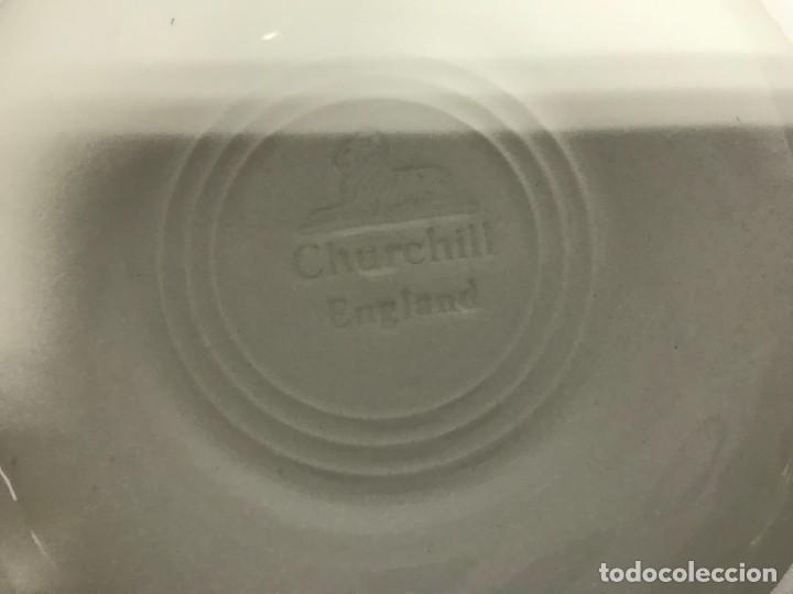 Antigüedades: Vajilla de porcelana inglesa Churchill para 8 personas ( 43 piezas ) - Foto 20 - 141814662