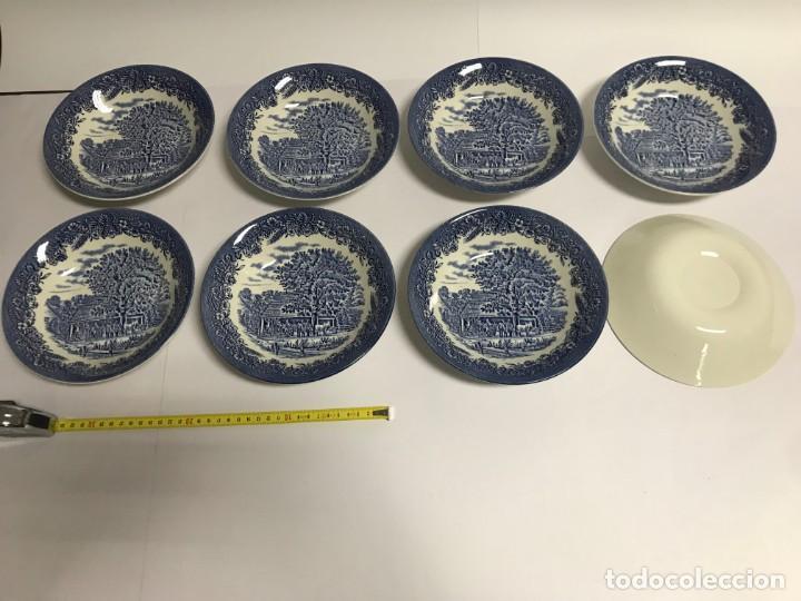 Antigüedades: Vajilla de porcelana inglesa Churchill para 8 personas ( 43 piezas ) - Foto 21 - 141814662
