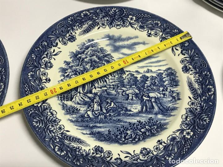 Antigüedades: Vajilla de porcelana inglesa Churchill para 8 personas ( 43 piezas ) - Foto 26 - 141814662